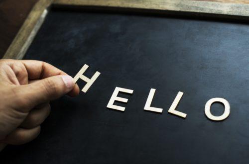 hello, communication