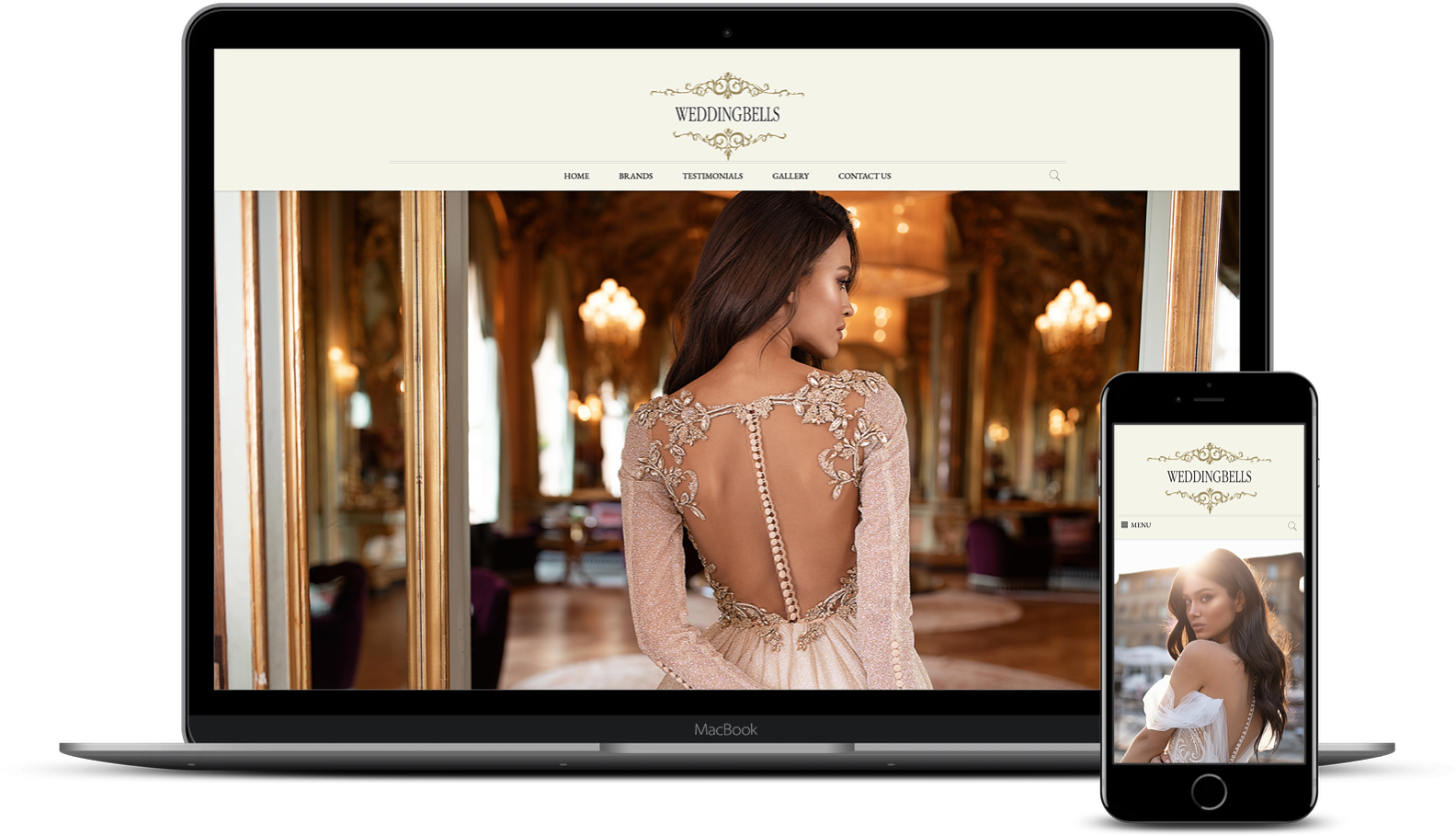 Website design and development for Wedding Bells Malta